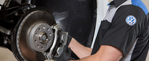 $50 Off Genuine Volkswagen Brake Pad and Rotor Replacement.9