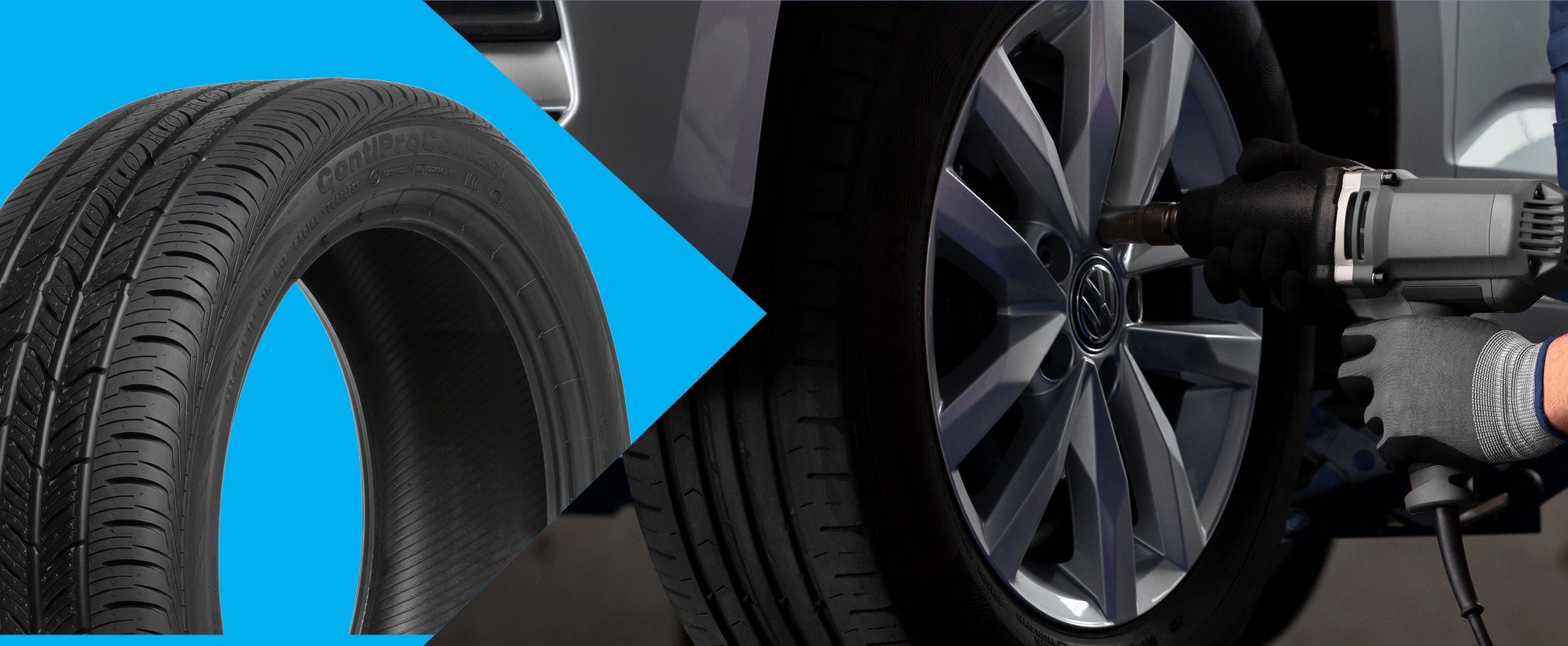 Convenience, Volkswagen Original Tires, and Unmatched Expertise