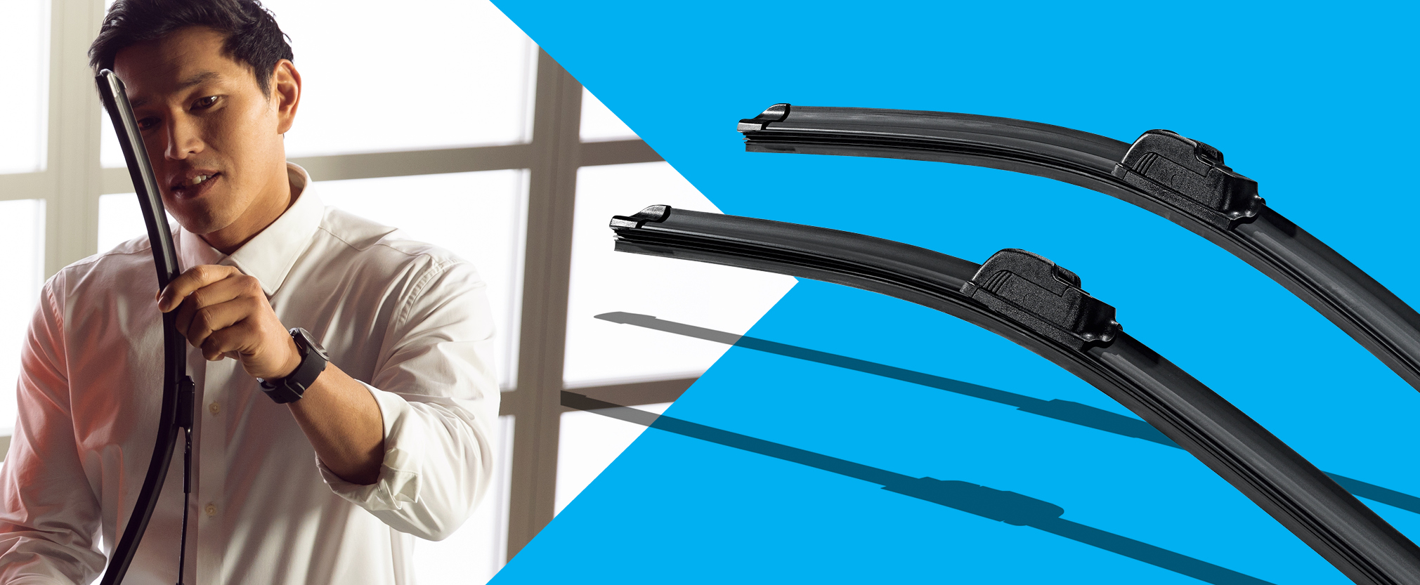 $7 Off Genuine VW Front Wiper Blade Replacement (Set of 2)2